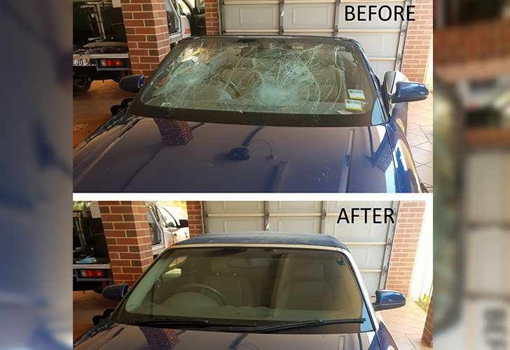 windscreen replacement process